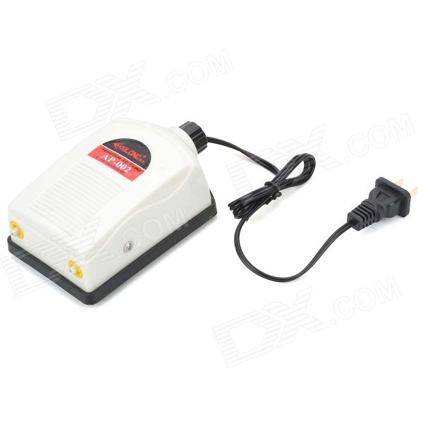 XiLong AP-002 Super Quiet Aquarium Oxygenated Air Pump for Fish / Tortoise - White