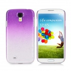 Water Drop Gradual Change Style Back Case for Samsung Galaxy S4 / i9500 - Purple
