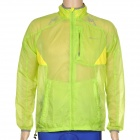 NUCKILY NY0915 Ultrathin Outdoor Sports Anti-UV Waterproof Polyester Jacket Coat - Green (Size L)