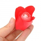 Romantic Heart Shaped 24-Soap Rose Flowers - Red