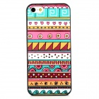 Tribal Style Protective Plastic Back Case for Iphone 5 - Multicolor