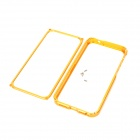 Stylish Protective Aluminum Alloy Bumper Frame for Iphone 5 - Golden