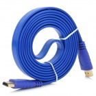 1080p HDMI V1.4 Male to Male Connection Cable for HDTV / Home Theater / Projector - Blue