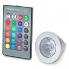 GX5.3 MR16 3W 45lm RGB LED Spotlight (AC 12V)