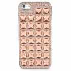 Riv+B104et Crystal Style Protective Plastic Case for Iphone 5 - Champagne