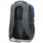 "SENDIWEI Fashionable Water Resistant Nylon Leisure 15.6"" Computer Traveling Zipper Backpack - Gray"