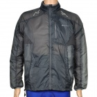 NUCKILY NY0915 Ultrathin Outdoor Sports Anti-UV Water Resistant Jacket Coat - Grey (Size M)