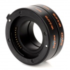 Skyblue MK-S-AF3-B Automatic Macro Extension Tube Adapter Ring Set for Sony ILDC - Black