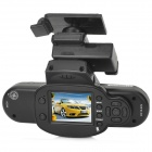 "GS600 Full-HD 1080P 1.5"" TFT 5.0MP CMOS Wide Angle Car DVR w/ G-sensor / GPS Logger / HDMI - Black"