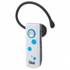 QBLUE KD15 1-to-2 Bluetooth v3.0 + EDR Headset w/ Microphone - White + Black + Blue
