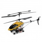 Alloy 3.5-CH Radio Control R/C Helicopter w/ Blowing Bubbles Function - Yellow