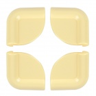 Ivory ABS Resin Anti Collision Angle Guard for Kids - Yellow