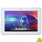 "AMPE A10-4C 10.1"" Capacitive Screen Android 4.1 Quad Core Tablet PC w/ TF / Wi-Fi / Camera - Silver"