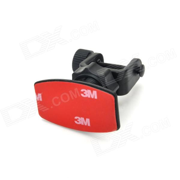 Car Mount Stand Holder W/ 3M Sticker for DVR G800 / GS800 / G900 / GS900 / GS1000 - Black + Red