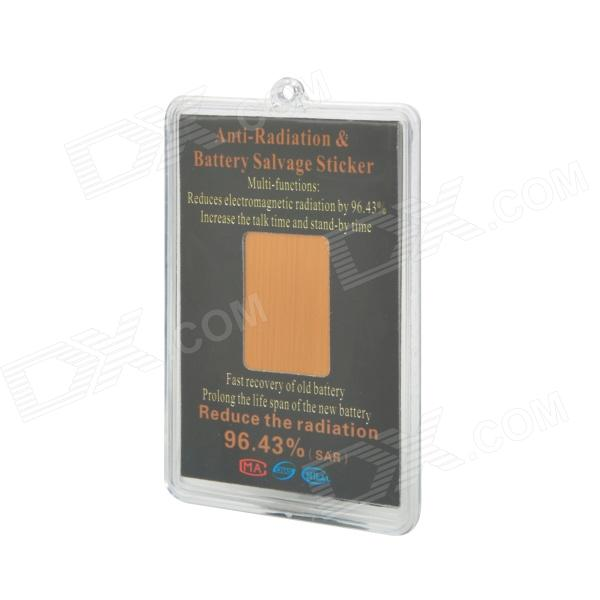 Anti-96 Anti-Electromagnetic Radiation Patch Sticker for iPhone + More -  Golden