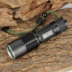 RAYSOON RS-F13 Cree XM-L U2 300lm 5-Mode White Flashlight - Black (1 x 18650 / 26650)