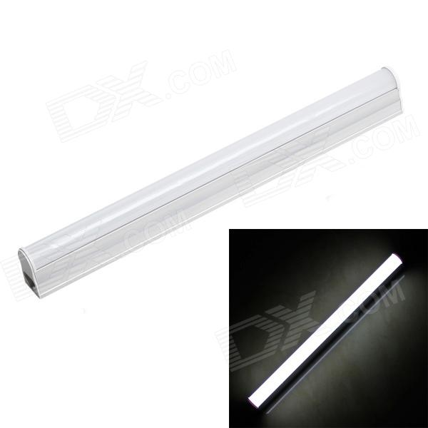 4W T5 320lm 6500K 36-SMD3014 White Light Energy-saving LED Tube Lamp (30cm length) - DXOther Connector Bulbs<br>Model ZY-T5-SMD3014 Material PC + aluminum Color White + Silver Quantity 1 Emitter Type SMD3014 Total Emitters 36 Power 4 W Color BIN White Rate Voltage 110-265V V Luminous Flux 320 lm Chip Working Voltage 3.0-3.2V Color Temperature 6500k K Wavelength None nm Connector Type T5 Application Residential and commercial lighting Features No Flickering instant-on no noise High efficiency Output (92%) Constant current drive heat protection system Save 60% power consumption comparing with the fluorescent light Packing List 1 x Tube Lamp<br>