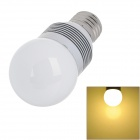 G50-3*1W E27 4W 300lm 3000K 3-LED Warm White Light Bulb Lamp (AC 100~240V)