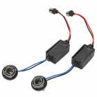 1156 LED Decoder / Erro Canceler para a Light Car - preto (2 PCS)