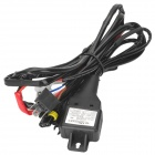 DIY Car Light Control Cables for H4 Retractable HID Lamp - Black