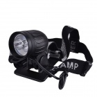 SingFire SF-545 White + XP-E R2 Green 942lm 4-Mode Bike Light Headlamp w/ Cree XM-L T6 (4 x 18650)