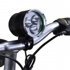 SingFire SF-546 2600lm 4-Mode White Bike Light с Cree XM-L T6 - черный + серебристый (4 x 18650)
