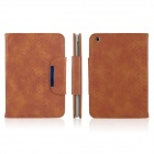 ENKAY ENK-3317 Snakeskin Pattern Protective PU Leather Case for Ipad MINI - Brown
