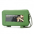 ZY-1313 Crush Resistance Shockproof PP Holder Case Box w/ Strap - Army Green (L-Size)