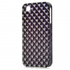 Square Style Protective Plastic Back Case for Iphone 4 / Iphone 4S - Black