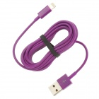 USB-zu-8-Pin Blitz-Ladekabel für iPhone 5 - Purple (300cm)