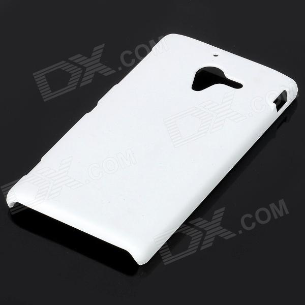big sale c9397 f3a07 Protective Frosted Plastic Back Cover Case for Sony Xperia ZL / L35H - White