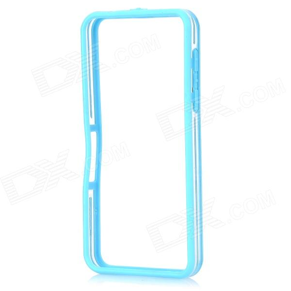 Protective PC + TPU Bumper Frame for BlackBerry Z10 - Light Blue
