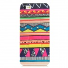 Colorful Protective Frosted Plastic Back Case w/ Stand for Iphone 5 - Multicolor