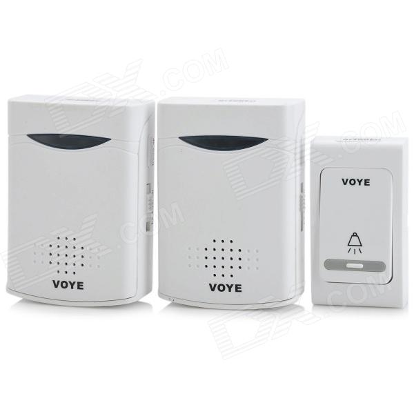 ML-V006B2 Wireless Doorbell Transmitter + Receiver Set - White