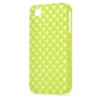 Square Style Protective Plastic Back Case for Iphone 4 / Iphone 4S - Green