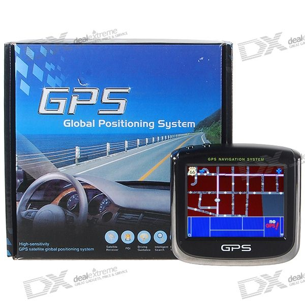 3.5 LCD 372MHz CPU Win CE 5.0 GPS Navigator with 2GB USA Map SD Card