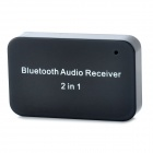 Bluetooth Audio Receiver w/ 30-Pin Connector + 3.5mm Jack for iPhone / iPad - Black