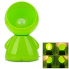 Doulq Fashion Minna No Tabo Style E14 25W 375lm 2900K Warm White Light Table Lamp - Green + White