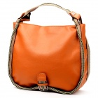 F085 Fashion Waterproof Women's PU Shoulder Bag / Handbag - Camel