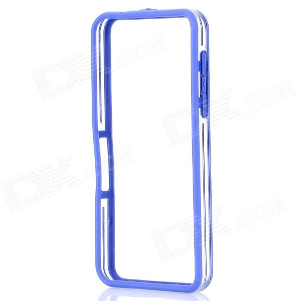 Protective PC + TPU Bumper Frame for BlackBerry Z10 - Blue + Transparent printio чехол для blackberry z10