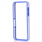 Protective PC + TPU Bumper Frame for BlackBerry Z10 - Blue + Transparent