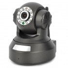 Kay Nikon K888 720P Surveillance Wireless Wi-Fi Network IP Camera w/ 10-IR LED / TF / LAN - Black