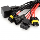 9006 / 9005 Xenon HID Conversion Kit Relay Wiring Harness Kit - Black