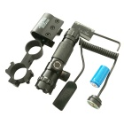 Aluminum Alloy Red Laser Gun Aiming Scope Sight - Black
