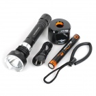 MagicShine MJ-810E 4-Mode White Diving Flashlight w/ CREE XM-L - Black