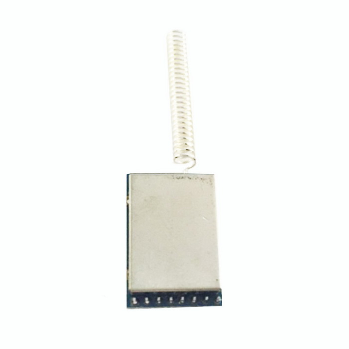 RF1100S 433MHz Wireless Transceiver Module w/ Spring Antenna - Green + Silver (1.8V~3.6V) simcom 5360 module 3g modem bulk sms sending and receiving simcom 3g module support imei change