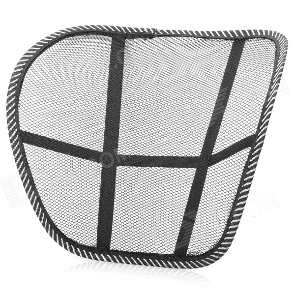 Breathable Mesh Waist Support Cushion for Home / Office / Car Seat Chair - Black от DX.com INT