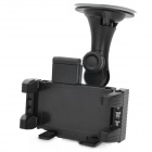 "Adjustable Windshield Holder Bracket for 4.3"" / 5.0"" / 7.0"" GPS / Tablet PC / Cellphone - Black"