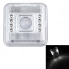 LAION L0803 2,5 W 40lm 6000K 8-LED White Light PIR Brust vertiefte Lampe (2 x AA)