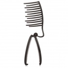 Banquetes Hair Style giro francés Maker - Dark Chocolate